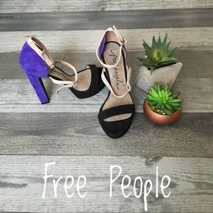 Ankle Strap Free People New With Bag!